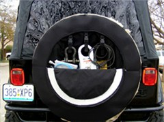 CLOSEOUT - PakkRatt Tire Cover / External Storage for Jeeps/4x4s