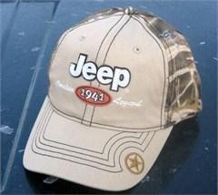 Jeep Winter Khaki Truckers Hat