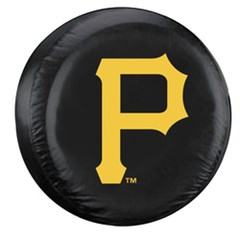 Pittsburgh Pirates MLB Tire Cover - Black Vinyl