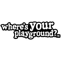 """Where's Your Playground?"" Color Decal"