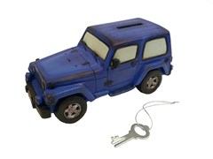 Jeep Wrangler Piggy Bank