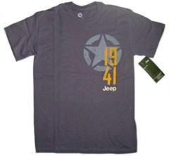 Granite Grey Men's Jeep Star/1941 Tee-Shirt
