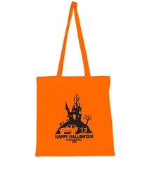 All Things Jeep Orange Halloween Tote 2013