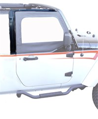 Rampage Door Surrounds, Jeep Wrangler 2 Door JK