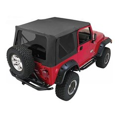 Sailcloth Top for Jeep Wrangler TJ w/Full Steel Doors