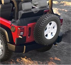 Soft Top Storage Boot by Rampage Products for 4 door Jeep Wrangler JK (2007-2012) Wrangler