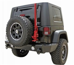 Rampage Products Recovery Bumper, Rear 2 & 4 Door JK (2007-2014) Textured finish