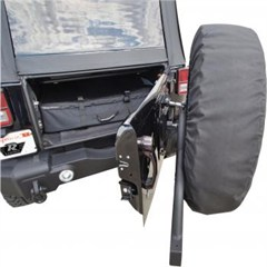 Rear Recovery Bumper w/Swing Away Tire Mount, Jeep Wrangler JK