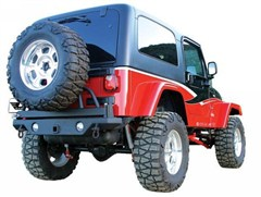 Rampage Products Swing Away YJ-TJ Rear HD bumper