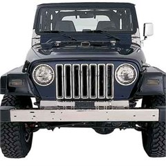 Chrome Grille Inserts for Jeep Wrangler TJ, LJ (1997-2006)