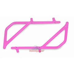 Rear Rigid Grab Handle for Wrangler 2007-2017 2DR Pink by Steinjager
