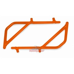 Rear Rigid Grab Handle for Wrangler 2007-2017 4DR in Orange by Steinjager