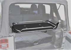 Interior Mount Rear Sport Rack by Rampage Products for 4 Door Jeep Wrangler JK Unlimited Only