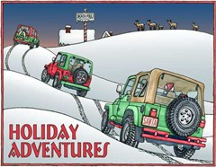 Jeep Xmas Cards: A Trip to the North Pole