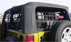 3 Piece Net Kit for 2 Door Jeep Wrangler JK - Rear & Side Window