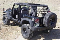 Standard Black Net System for 4 Door Jeep Wrangler JK Unlimited (2007-2014)