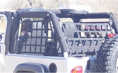 3 Piece Rear & Side Net Set-Jeep Wrangler Unlimited LJ 2004-2006