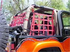 Raingler 3 piece set - Jeep Wrangler TJ (Rear/Side Window Nets)