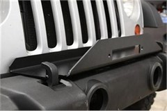Winch Plate for Jeep JK (2007-2014) Stock Bumper by Rock Hard 4x4