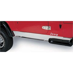 Stainless Steel Rocker Panels for Jeep Wrangler TJ (1997-2006)