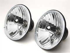 "Halogen Conversion Headlight Kits, 7"" Round, for most auto applications"