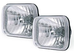 Halogen Conversion Headlight Kits, 200mm Rectangle, for most auto applications