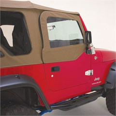 Complete Soft Top Kit w/Clear Windows & Door Skins TJ 1997-2006