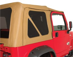 Rampage Complete Soft Top Kit w/Tint Windows TJ 1997-2006