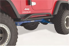 Rampage Sand-Rock-Street Rock Guard for Jeep Wrangler YJ, TJ, LJ