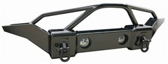 Front Recovery Bumper with Stinger by Rampage Products for Jeep Wrangler JK (2007-2014)