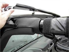 Windshield Channel by Rampage Products for 2 and 4 Door Jeep Wrangler JK (2007-2014)