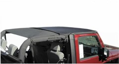 Rampage Products Combo Brief/Topper with Pocket for Wrangler JK (2010-2014), 2 Door