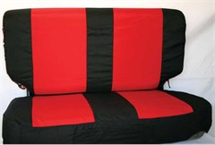 """Comfort Combo Pack"" Rear Seat Cover by Rampage Products for Jeep Wranglers (03-06)"