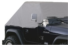 WATERPROOF Cab Cover for Jeep Wrangler 87-91, Grey, Rampage Products