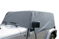 Jeep Cab Cover, 4 Layer, Grey, for 2 Door Jeep Wrangler (2007-2014)