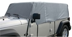 Rampage 4 Layer Cab Cover-4 Door Jeep Wrangler JK Unlimited,Gray
