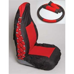 """Comfort Combo Pack"" Front Seat Covers by Rampage Products for Jeep Wranglers (03-06)"