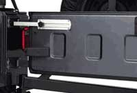 Tailgate Stopper by Rampage Products for Jeep Wrangler and Unlimited (1987-2006)