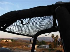 "Jeep Cargo Nets: Trail Tamer Hammock/Cargo Net Front to Rear, 24"" x 43"""