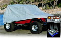 4 Layer Grey Car Cover, for 76-06 Jeep CJ & Wrangler