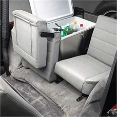 All Things Jeep Split Fold Amp Tumble Rear Seat For Jeep