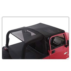 Mesh Island Topper Extended Top for Jeep Wranglers '92-95, Rampage Products