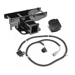 Jeep 2 inch Receiver Hitch with Plug for Jeep Wrangler JK