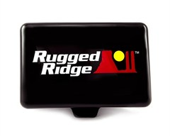 "5X7"" Inch Rectangular Offroad Light Cover by Rugged Ridge (Black or White)"