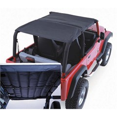 Black Denim Acoustic Island Topper for Jeep Wrangler TJ (1997-2006)