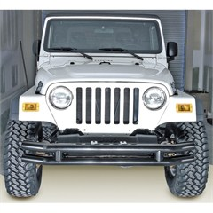 "3"" Inch Front Double Tube Bumper, Jeep CJ, YJ, TJ & LJ"