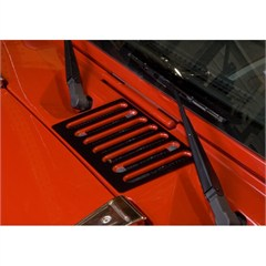 Black Cowl Vent Cover for Jeep Wrangler JK (2007-2014)