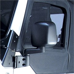 Black Left Hand Side Mirror for Jeep Wrangler TJ and LJ (1997-2006)