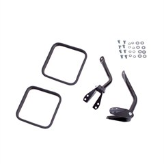 Black Side Mirror Kit for Jeep CJ (1955-1986)