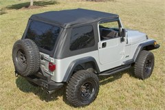 Frameless XHD Soft Top w/Tint Windows TJ 1997-2006